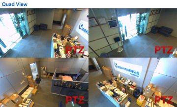 Video surveillance of commercial lobby