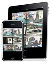 Video surveillance on iPad